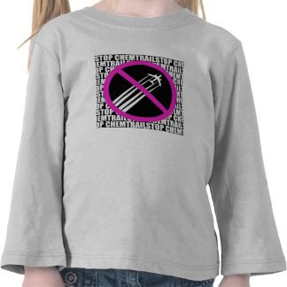 Stop Chemtrails! Shirt