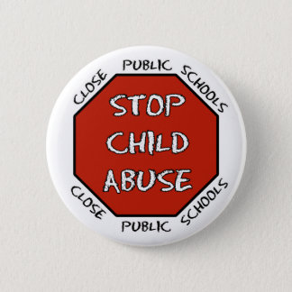 Stop Child Abuse Button