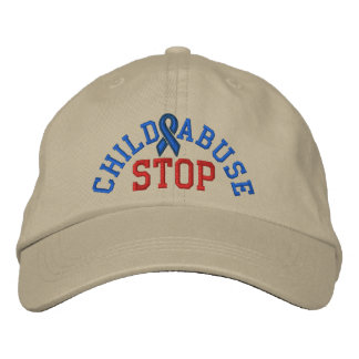 STOP CHILD ABUSE Cap by SRF