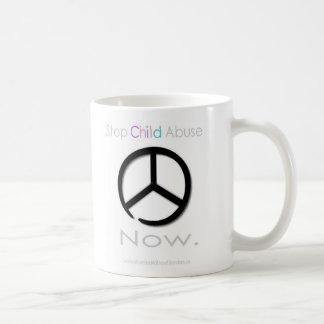 Stop Child Abuse Now Coffee Mug