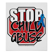 Stop Child Abuse Sign