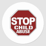 Stop Child Abuse Stickers