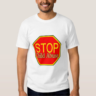 Stop Child Abuse T Shirt