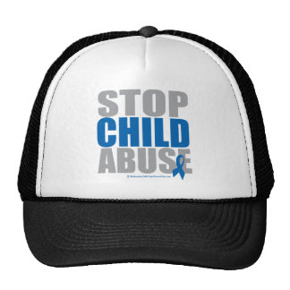 Stop Child Abuse Trucker Hat