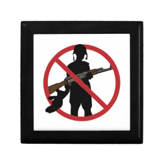 Stop Child Soldiers Jewelry Box