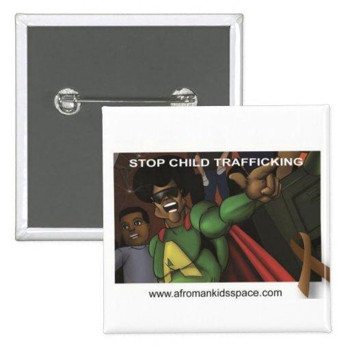 Stop Child Trafflicking button