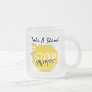 Stop Childhood Cancer Take A Stand Coffee Mugs