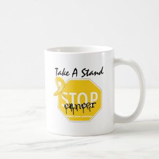 Stop Childhood Cancer Take A Stand Mugs