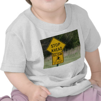 stop children at play t shirts