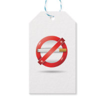 stop cigarette gift tags
