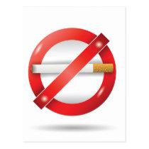 stop cigarette postcard