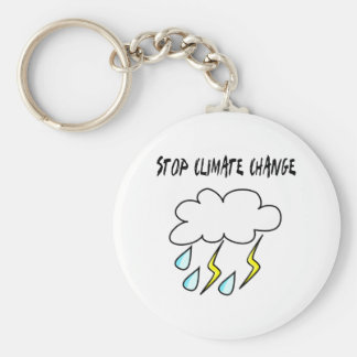 Stop climate Change! Ecology products! Keychain
