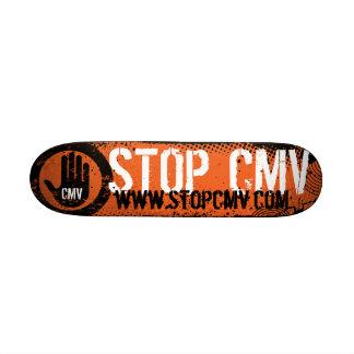 Stop CMV Mini Skateboard Deck