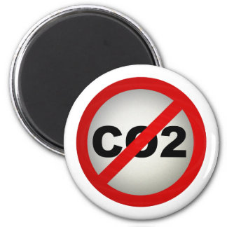 Stop CO2 2 Inch Round Magnet