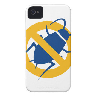 Stop Cockroach Icon Case-Mate iPhone 4 Case