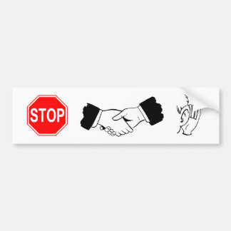 Stop... Collaborate and listen! Bumper Sticker