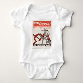 Stop Communism Propaganda Apparel Baby Bodysuit