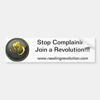 Stop Complaining Sticker Car Bumper Sticker