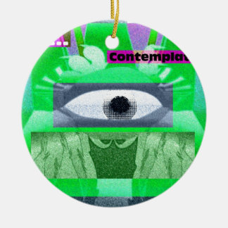 Stop Contemplate Christmas Ornaments