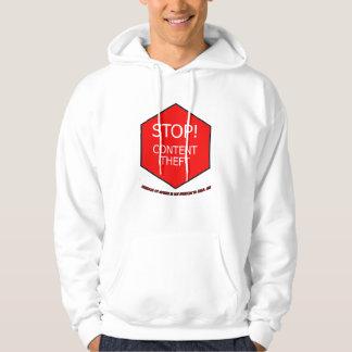 Stop Content Theft Hoodie