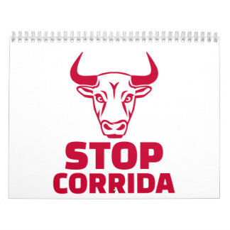 Stop corrida calendar