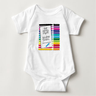 Stop Counting Crayons Infant One-Piece Creeper