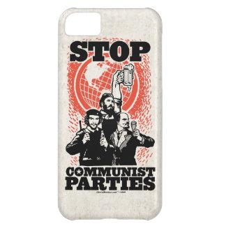 Stop Cummunist Parties Case Cover For iPhone 5C