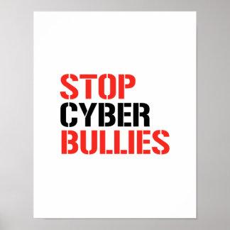 STOP CYBER BULLIES PRINT