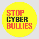 STOP CYBER BULLIES STICKERS