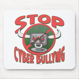 Stop Cyber-Bullying Anti Cyberbully Gear Mouse Pad
