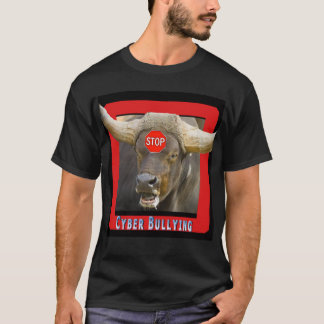 Stop Cyber Bullying Bull T-Shirt
