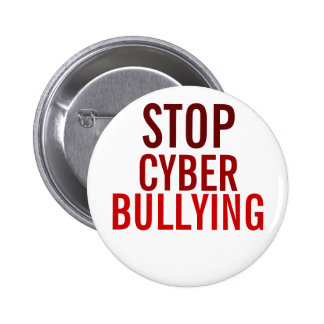 STOP Cyber Bullying Pin