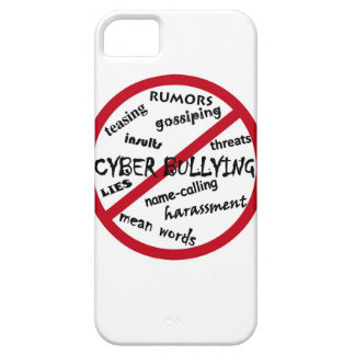 Stop Cyber Bullying iPhone 5 Covers