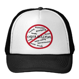 Stop Cyber Bullying Mesh Hat