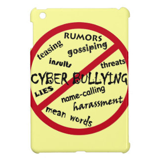 Stop Cyber Bullying iPad Mini Cover