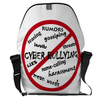 Stop Cyber Bullying Messenger Bags