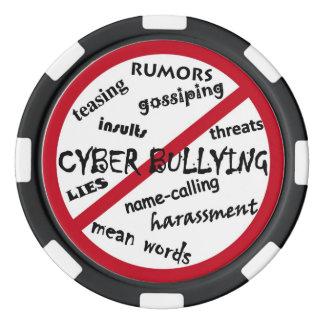Stop Cyber Bullying Poker Chip Set
