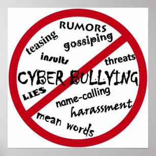 no bullying posters photo prints zazzle
