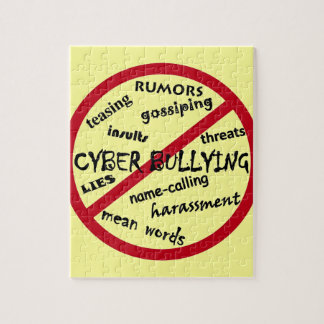 Stop Cyber Bullying Puzzle
