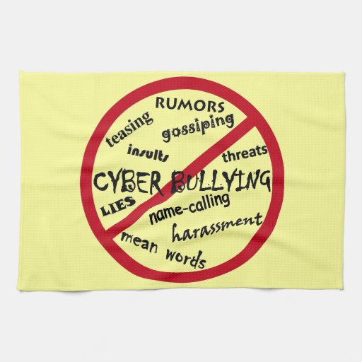 Stop Cyber Bullying Towel