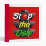 STOP Debt Avery Binder