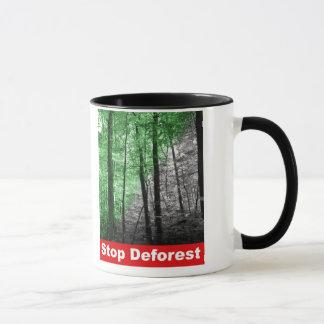 Stop Deforest Mugs