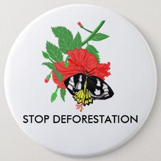Stop Deforestation Button