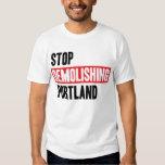 Stop Demolishing Portland - light colors T-Shirt