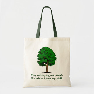 Stop Destroying... Budget Tote Bag