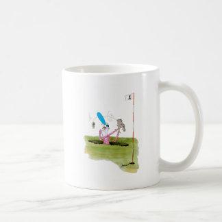stop digging - golf, tony fernandes coffee mug