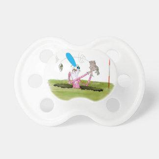 stop digging - golf, tony fernandes pacifier