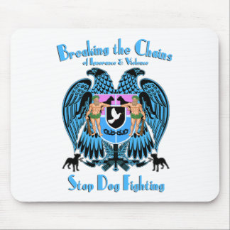 Stop Dog Fighting, American Pit Bull Terrier Dog Mouse Pad