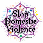 Stop Domestic Violence Lotus Cut Outs