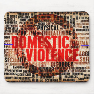 Stop Domestic Violence Mouse Pad